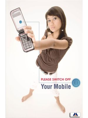 Poster English Switch Off Your Mobile (Paper) PO-004