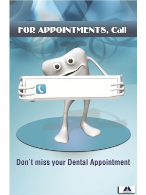 Poster English For Appointments Call (Paper) PO-012
