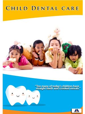 Poster English Child Dental Care (Paper) PO-024