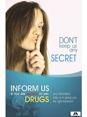 Poster English Don't Keep us any Secret (Paper) PO-052