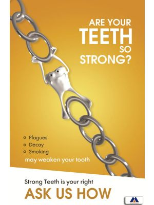 Poster English Are your Teeth So Strong (Paper) PO-063