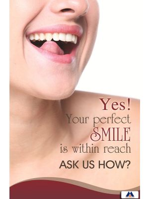 Poster English Yes Your Perfect Smile (Paper) PO-066