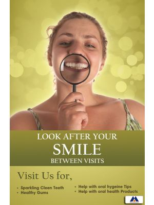 Poster English Look after your smile (Paper) PO-072