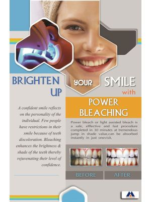 Poster English Brighten your smile (Paper) PO-074