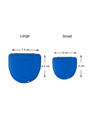 Leone Plate Holders Blue 10/pk