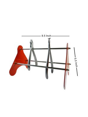 Shree Plier Rack Stainless Steel Non - Foldable 1/pk