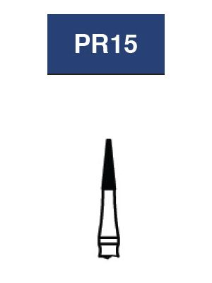 Strauss FG Diamond Burs Needle 012 6/pk - PR15
