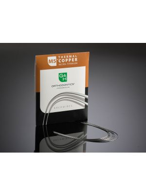 G&H M5 Thermal Copper Niti (Damon Compatible) Wire Europa Form II Pack of 25