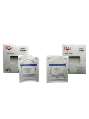Fox Niti Preformed Wire Ovoidform Solo Pack of 10 Pcs