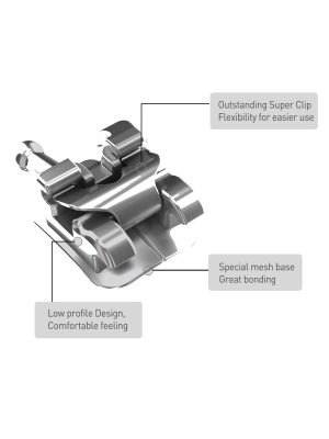 Hubit Yes Metal Self Ligating Bracket (Inter-Active)