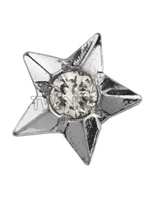 Twinkles Star 18 K White Gold with Diamond 0.01 Ct - Art No. 222