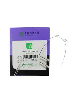G&H SS 2 T-Loop Wires True Form Pack of 10 Pcs