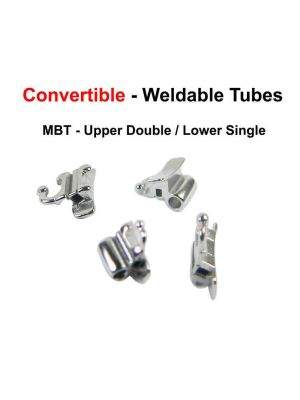Captain Ortho MBT/Roth .018 Weldable Tubes