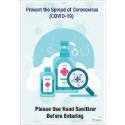 Poster English Prevent the Spread of Coronavirus (COVID-19) - 101