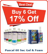 Pacal 60 Sec Gel or Foam